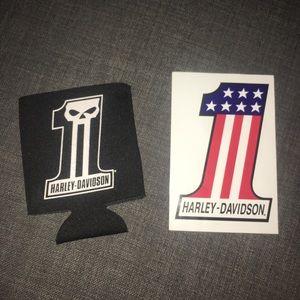 Harley Davidson Sticker & Cuzzi